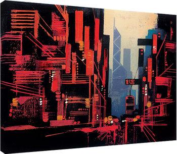 Canvastavla Colin Ruffell - Hong Kong