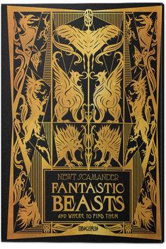 Canvastavla Fantastiska vidunder: Grindelwalds brott - Fantastic Beasts and Where to Find Them