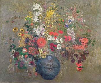 Canvastavla Flowers, 1909