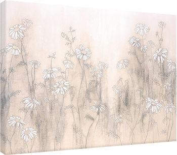 Canvastavla Hans Andkjaer - White Daisies