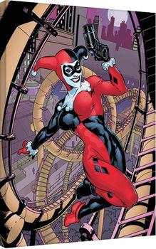 Bilden på canvas Harley Quinn - Rollercoaster