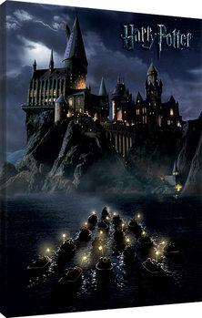 Bilden på canvas Harry Potter - Hogwarts School