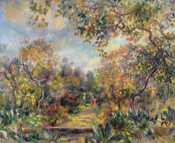 Canvastavla Landscape at Beaulieu, c.1893