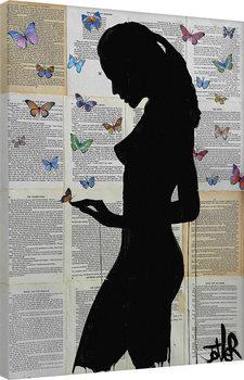 Canvastavla Loui Jover - Butterflies