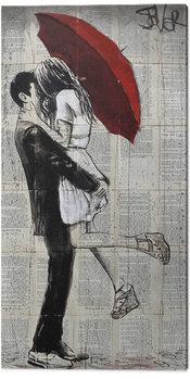 Canvastavla Loui Jover - Forever Romantics Again