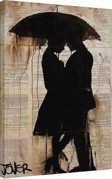 Canvastavla Loui Jover - Rain Lovers