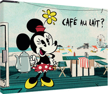 Canvastavla Mickey Shorts - Café Au Lait?