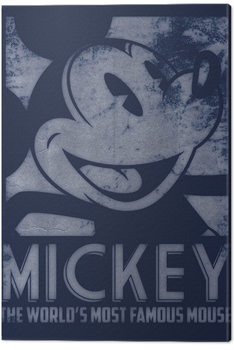 Canvastavla  Musse Pigg (Mickey Mouse) - Most Famous Mouse