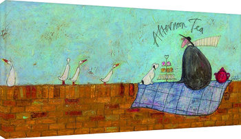 Canvastavla Sam Toft - Afternoon tea