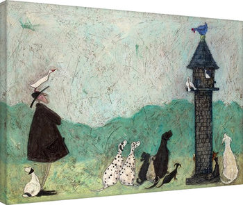 Canvastavla  Sam Toft - An Audience with Sweetheart
