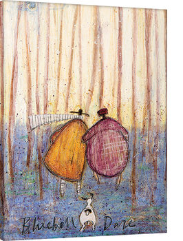 Canvastavla Sam Toft - Bluebell Daze