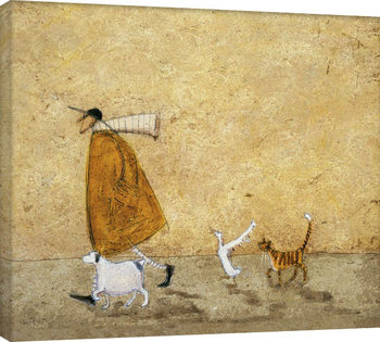 Canvastavla Sam Toft - Ernest, Doris, Horace And Stripes
