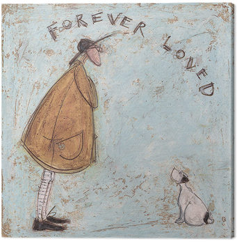 Canvastavla Sam Toft - Forever Loved