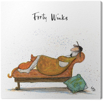 Canvastavla  Sam Toft - Forty Winks