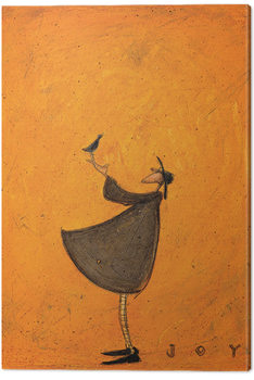 Canvastavla  Sam Toft - Joy
