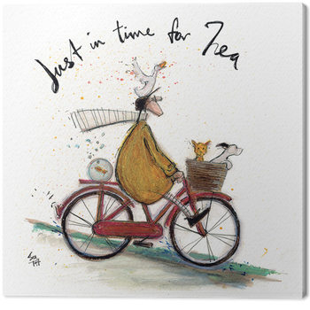 Canvastavla Sam Toft - Just in Time for Tea