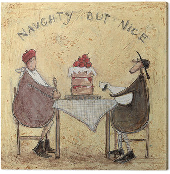 Canvastavla Sam Toft - Naughty But Nice