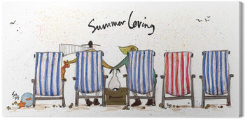 Canvastavla Sam Toft - Summer Loving