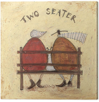 Canvastavla Sam Toft - Two Seater