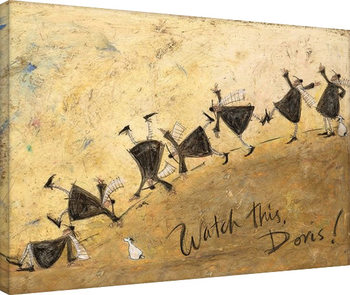 Canvastavla  Sam Toft - Watch This, Doris!