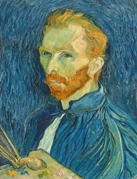 Canvastavla Self-Portrait, 1889