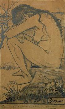 Canvastavla Sorrow, 1882