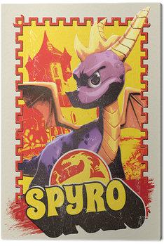 Canvastavla Spyro - Vintage