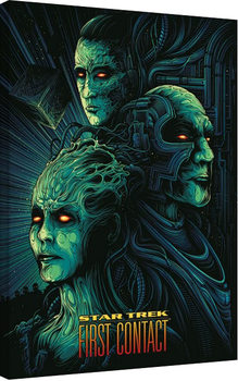 Canvastavla  Star Trek: First Contact - 50th Anniversary