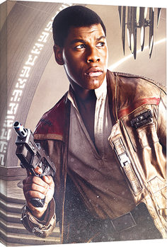 Canvastavla Star Wars: The Last Jedi - Finn Blaster