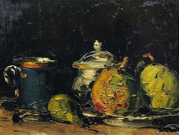 Canvastavla Still Life, c.1865