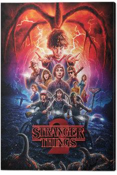 Canvastavla Stranger Things - One Sheet Series 2