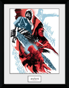 Assassins Creed - Compilation 1 gerahmte Poster