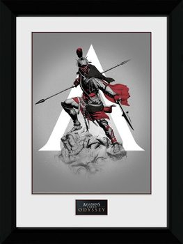 Assassins Creed Odyssey - Graphic gerahmte Poster