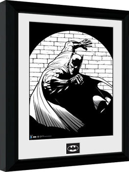 Batman Comic - Spotlight gerahmte Poster