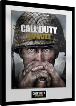 Call Of Duty: Stronghold - WWII Dogtags gerahmte Poster