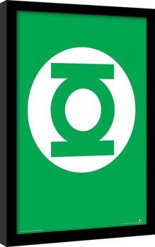 DC Comics - The Green Lantern gerahmte Poster
