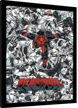 Deadpool - Bodies gerahmte Poster