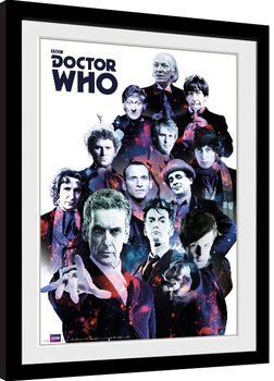 Doctor Who - Cosmos gerahmte Poster