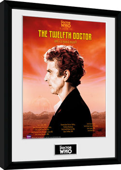 Doctor Who - Spacetime Tour 12th Doctor gerahmte Poster
