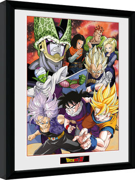 Dragon Ball Z - Cell Saga gerahmte Poster