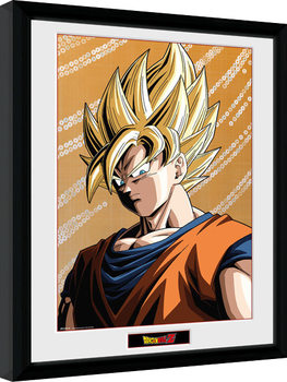 Dragon Ball Z - Goku gerahmte Poster