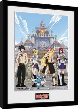 Fairy Tail - Season 1 Key Art gerahmte Poster