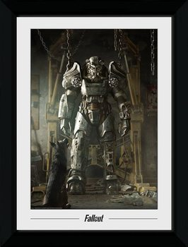 Fallout - Power Armour gerahmte Poster