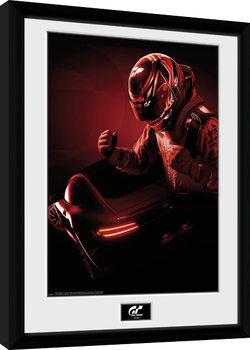 Gran Turismo - Key Art gerahmte Poster