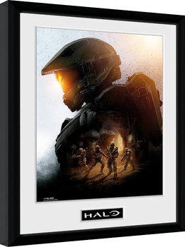 Halo - Master Chief gerahmte Poster
