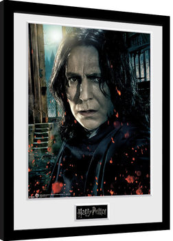 Harry Potter - Snape gerahmte Poster