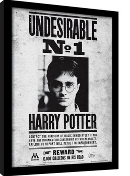 Harry Potter - Undesirable No1 gerahmte Poster