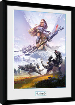 Horizon Zero Dawn - Complete Edition gerahmte Poster