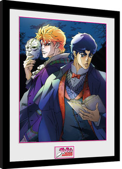 Jojo's Bizarre Adventures - Mask gerahmte Poster