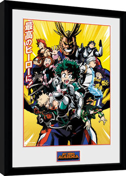My Hero Academia - Season 1 gerahmte Poster